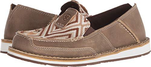 Ariat Women's Aztec Cruiser Shoes Moc Toe Brown 8 M