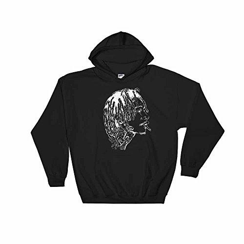 Wiz Khalifa Black Hoodie Sweater (Unisex) (XL)