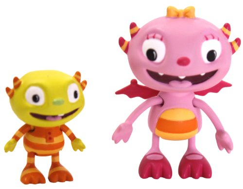 Golden Bear Henry Hugglemonster Summer and Ivor Figurine Set