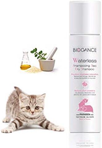 Biogance - Champú seco para Limpieza de Gatos (150 ml): Amazon.es ...