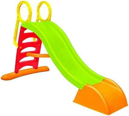 Wac Scivolo Da Giardino Per Bambini Con Innesto Acqua Struttura In
