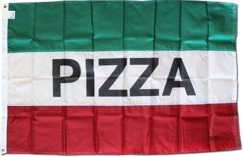 Pizza - 3' x 5' Nylon Message Flag