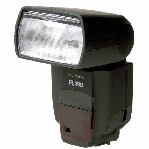 Promaster FL-190 High Power TTL Flash - For Nikon Cameras