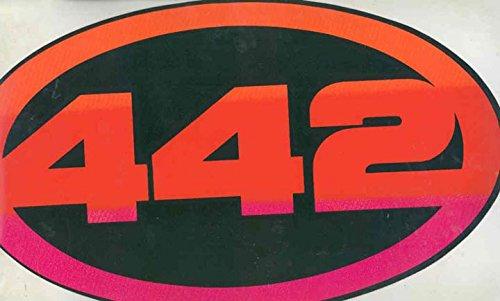 1965 1966 1967 1968 1969 1970 1971 1972 Oldsmobile 442 Showroom Sticker from Oldsmobile