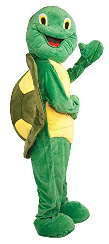 UHC Turtle Plush Mascot Jumpsuit Funny Comical Theme Party Halloween Costume, OS