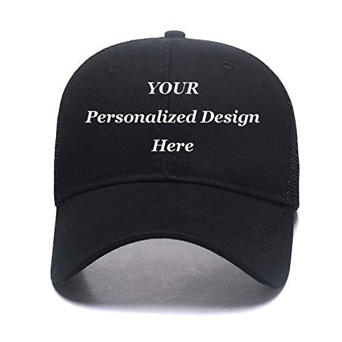 Custom Mesh Trucker Hat Fashion High Ponytail Hat for Men Women Messy Buns Hats,Snapback.Hip Hop Baseball Cap