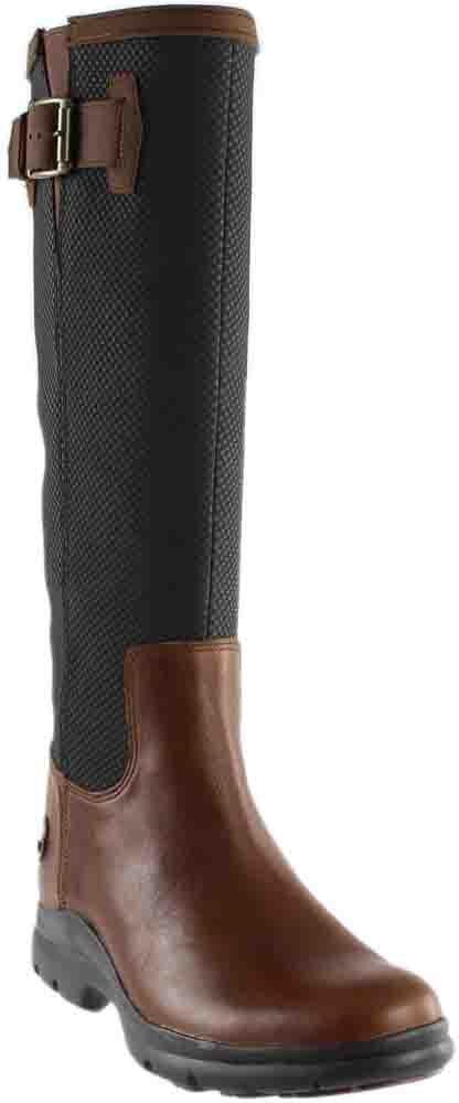 Timberland Women's Turain Tall Waterproof Boot Medium Brown Tectuff Leather 8.5 B US