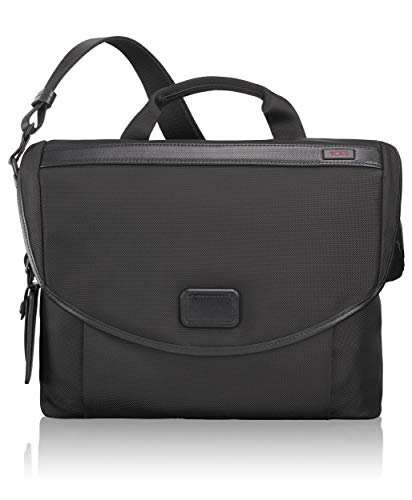 TUMI - Alpha 2 Slim Messenger Bag - Shoulder Crossbody Bags for Men and Women - Black