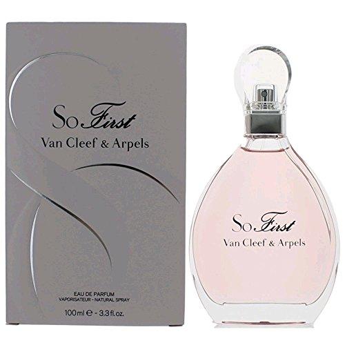 Arpels Eau De Parfum Spray (Van Cleef & Arpels So First Eau de Parfum for Women Spray, 3.3 Ounce)