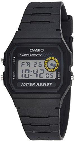 Dial Resin Quartz Movement (Casio Men's Core F94WA-8 Black Resin Quartz Watch with Digital Dial)
