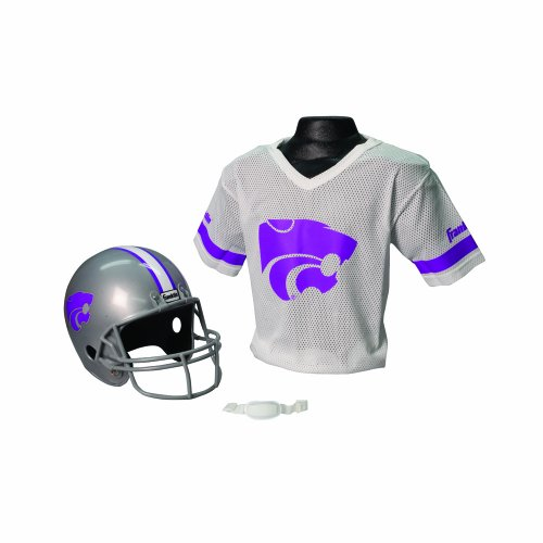Franklin Sports NCAA Kansas State Wildcats Helmet and Jersey Set -