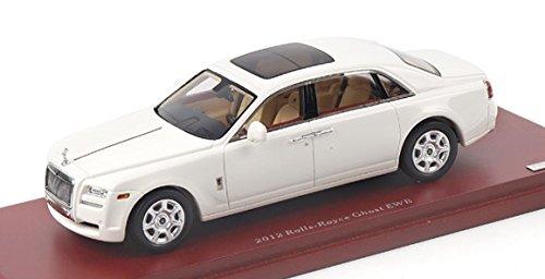 2012 Rolls-Royce Ghost EWB in English White Model Car in 1:43 Scale by Truescale Miniatures (Rolls Royce Truck)