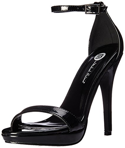 Michael Antonio Women's Lovina-MET Heeled Sandal Black 8 M US from Michael Antonio