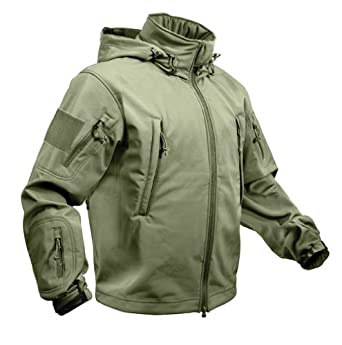 Amazon.com  ROTHCO SPECIAL OPS TACTICAL SOFTSHELL JACKET - OLIVE ... 045a751c37e
