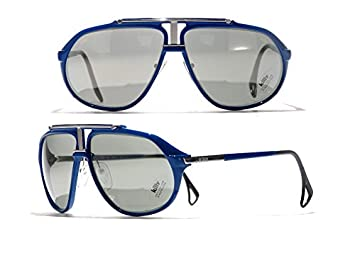 d504bb29d41e Image Unavailable. Image not available for. Colour  Killy   Cartier 469  carbon Blue Ultra Rare Luxury Vintage Aviator Sunglasses ...