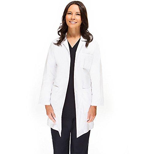 Womens Basic Lab Coats - allheart Basics Women's Full Length 38