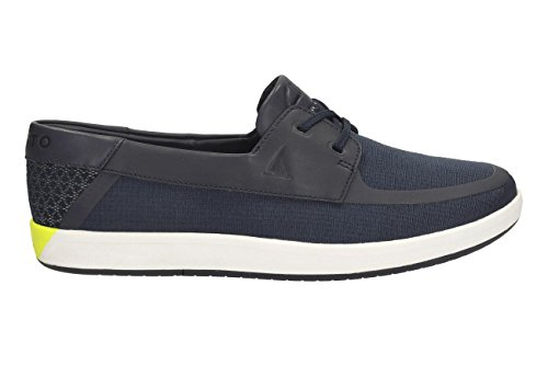Navy Nautic Clarks Derby Herren Harbour Schnürhalbschuhe qwxOW0AS1