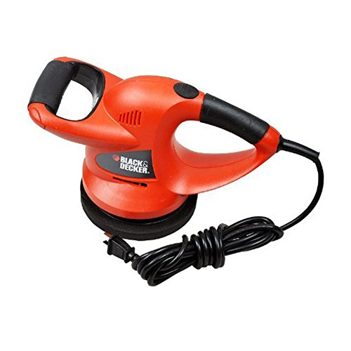 Black&decker Kp600 Versatile Polisher for Car Waxing 220v Black & Red