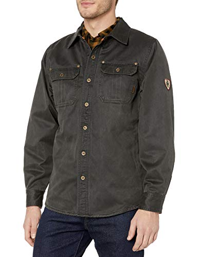 Legendary Whitetails Men's Journeyman Flannel Lined Rugged Shirt Jacket