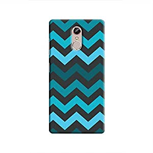 Cover It Up - Jagged Blue Gionee S6sHard Case