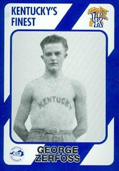 George Zerfoss Basketball Card (Kentucky) 1989 Collegiate Collection #32