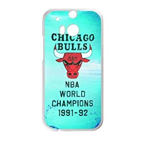 Lovely Chicago Bulls Phone Case For HTC One M8 M55336