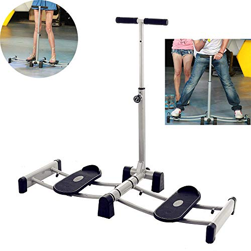CHENGL Leg Trainer, Lower Body Exercise Trimming Hips Foldable Leg Sports Equipment Thigh Exercise Fitness Stepper Fitness Trainer Exercise Training Machine, Thighs and Thighs (Leg Magic Exercise Machine)