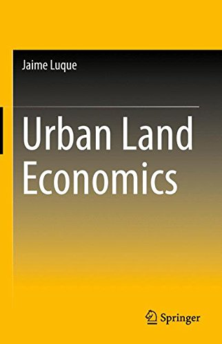 Urban Land Economics by Springer
