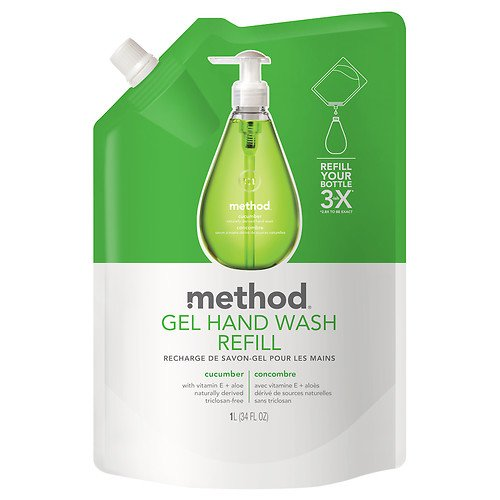 method Gel Hand Wash Refill, Cucumber 34 fl oz (354 ml)