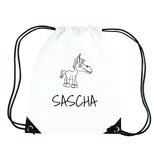JOllipets SASCHA Turnbeutel Sport Tasche PGYM5908 Design: Pferd 4kIcm