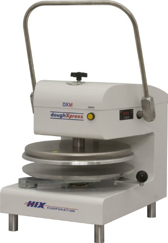 DoughXpress DXM-WH White Powder-Coated Commercial Manual Dough Press, 220V, 22'' Width x 24-7/8'' Height x 30-5/8'' Depth by DoughXpress