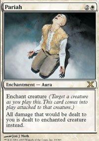 Magic The Gathering 10th Edition Decks - Magic: the Gathering - Pariah (33/383) - Tenth Edition