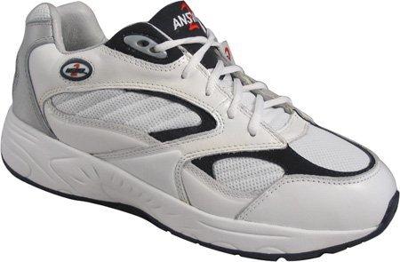 Mt. Emey Men's 554-3 Walking Shoes,White,9.5 W
