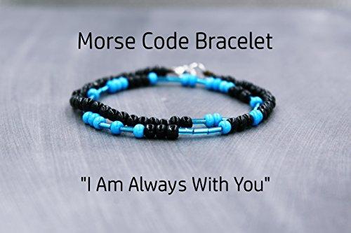 Police Wife Bracelet, Gift for Police Wife Jewelry, Morse Code Bracelet (Jewelry Police)