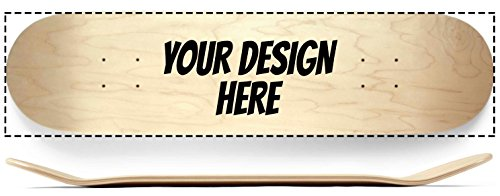 Custom Complete Skateboard - Design your own skateboard with custom printed deck and griptape, complete with Indy trucks and Spitfire - Wheels Deck Trucks Skateboard Complete
