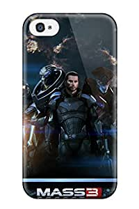 Waterdrop Snap-on Mass Effect 3 Extended Cut Case For Iphone 4/4s