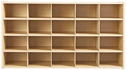 20 Cubbie-Tray Storage without Trays (Jonti Craft Cubbie Tray)
