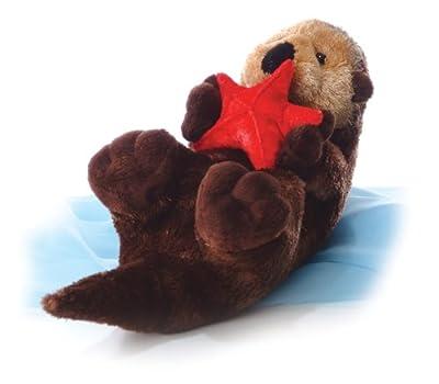 "Aurora Plush Cali Otter Flopsie - 12"" | Popular Toys"