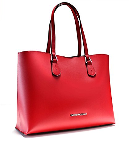 EMPORIO ARMANI SMOOTH SHOPPING BAG Y3D085YH19E Rosso