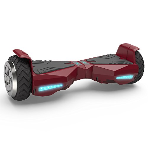 "Hoverboard 6.5"" UL 2272 Listed Self Balancing Wheel Electric Scooter (Red)"