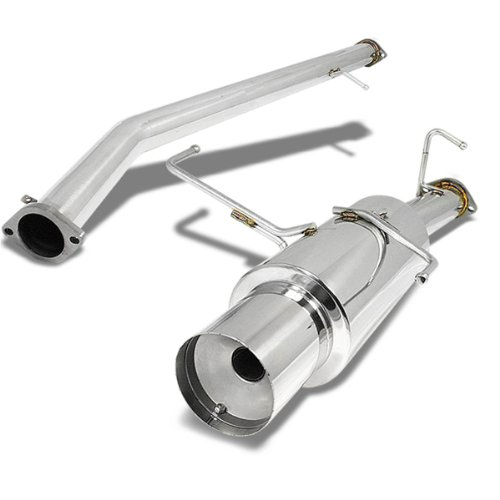 For Nissan Silvia 240SX Catback Exhaust System 4.5 inches Tip Muffler - S14