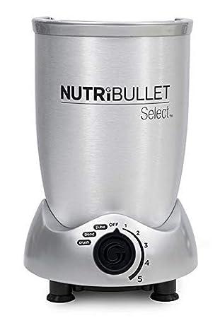 NutriBullet N9C-0928 - Extractor de Nutrientes, con recetario en español, base motor de 1000 W, 4.000 - 20.000 rpms, 1 solo botón, 5 velocidades ...