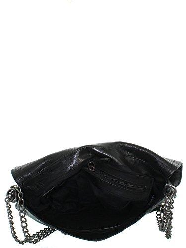 IKKS Sac Sac IKKS Cuir Noir Noir Femme Cuir Cuir IKKS Sac IKKS Femme Noir Femme qARv11