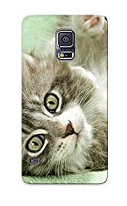 Awesome Case Cover/galaxy S5 Defender Case Cover(kitten)
