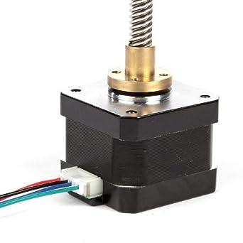 SainSmart NEMA 17 Lead Screw 265mm Stepper Motor M8 Z axis for 3D Printer  CNC RepRap