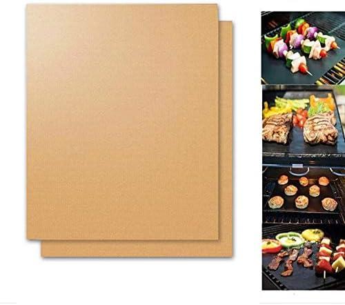 (N/A) Tapis de Cuisson à Barbecue Facile à Chauffer, Extra épais et résistant à la Chaleur Tapis de Barbecue Barbecue Tapis de Barbecue réutilisable antiadhésif-4pcs Noir