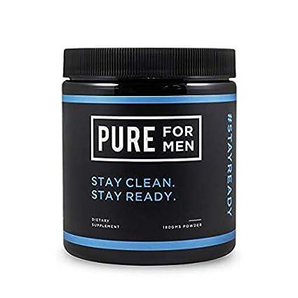 Pure for Men - El suplemento original de fibra de limpieza vegana, sin cápsula (