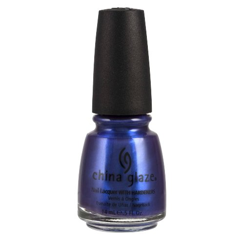旅行圧縮するボール(6 Pack) CHINA GLAZE Nail Lacquer with Nail Hardner - Tempest (並行輸入品)