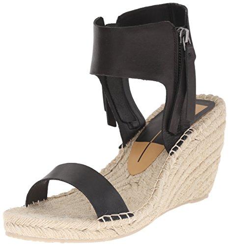 Dolce Vita mujer Gisele Alpargata cuña sandalias Black