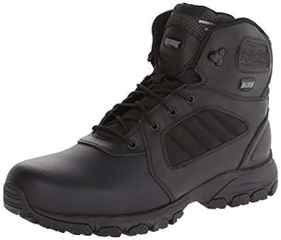 Magnum Men's Response III 6.0 Slip Resistant Work Boot,Black,7 M US
